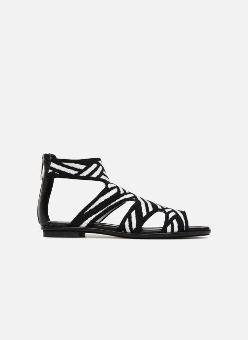 Sandales et nu-pieds What For Effy Lo Noir vue derrière