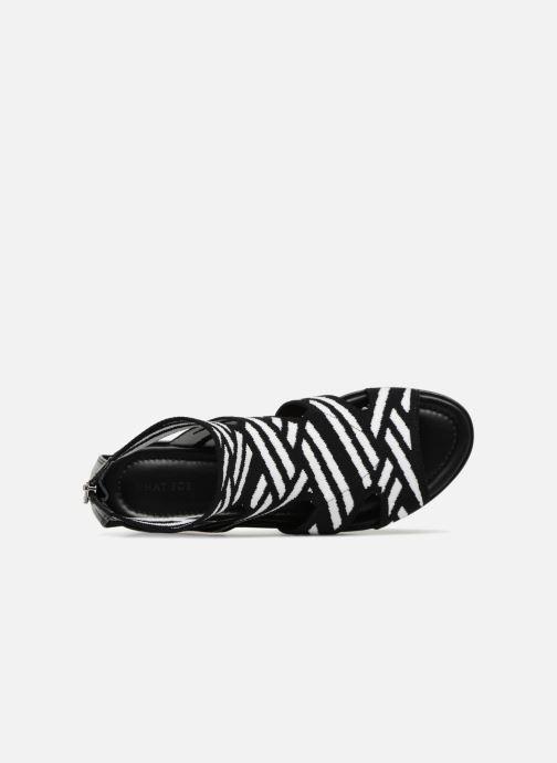 Sandales et nu-pieds What For Effy Lo Noir vue gauche