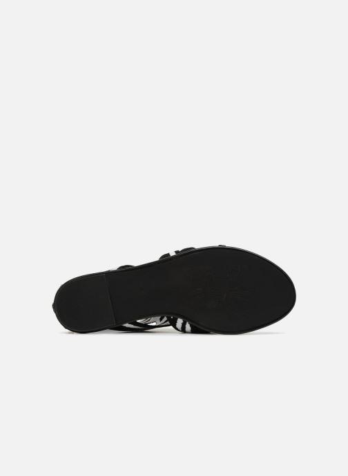 Sandales et nu-pieds What For Effy Lo Noir vue haut