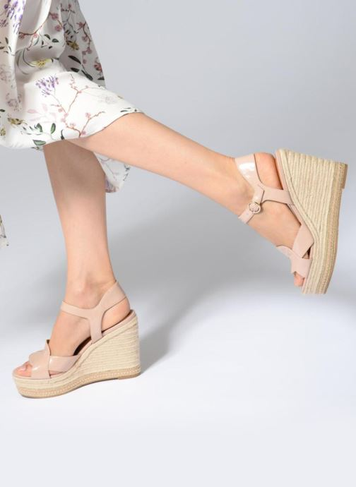 Espadrilles What For Christine Beige view from underneath / model view