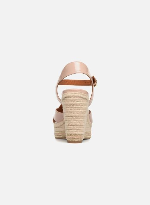 Espadrilles What For Christine Beige vue droite