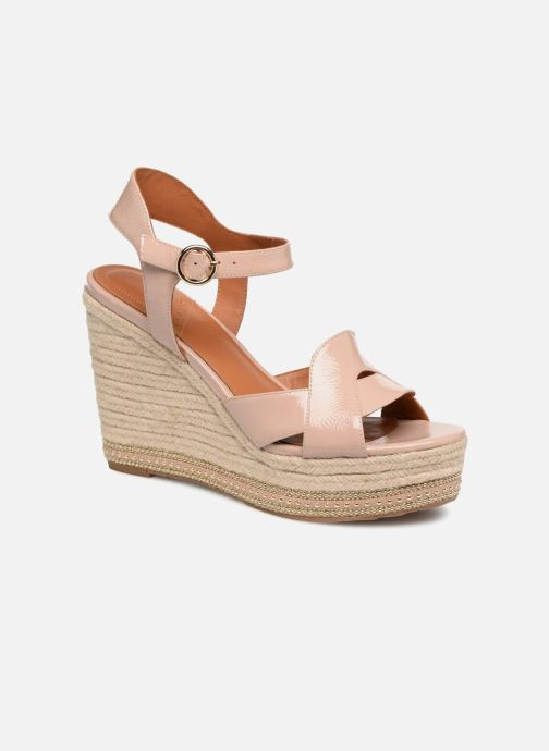 Espadrilles What For Christine Beige vue détail/paire