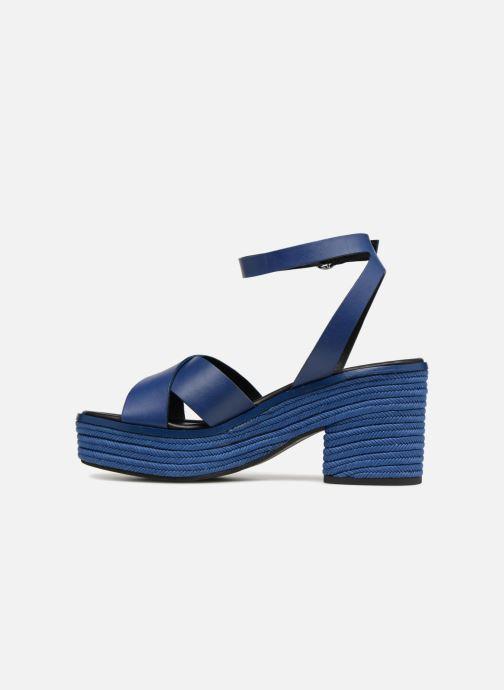 Blue Wf534 Claudette Nu pieds What Et For Dark Sandales ED9IWH2Y