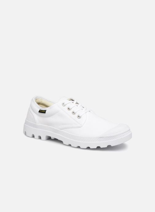 Baskets Palladium Oxford Originale Blanc vue détail/paire