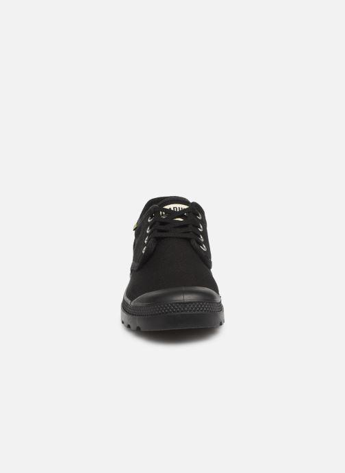 Baskets Palladium Oxford Originale Noir vue portées chaussures