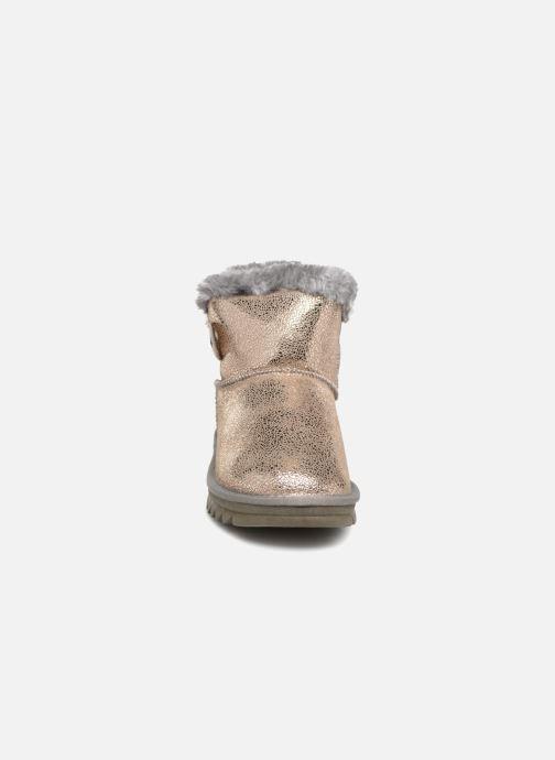 Bottines et boots Les Tropéziennes par M Belarbi Jaipur Or et bronze vue portées chaussures