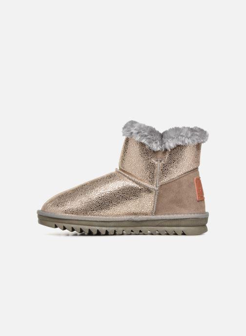 Ankle boots Les Tropéziennes par M Belarbi Jaipur Bronze and Gold front view