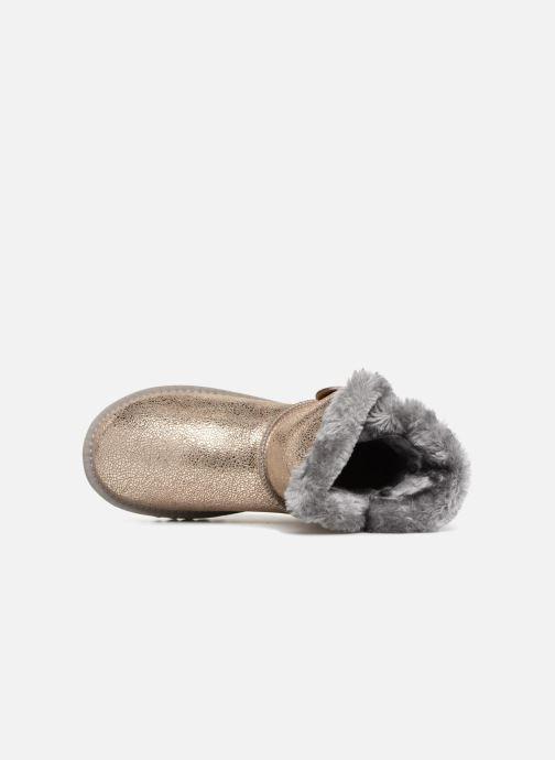 Ankle boots Les Tropéziennes par M Belarbi Jaipur Bronze and Gold view from the left