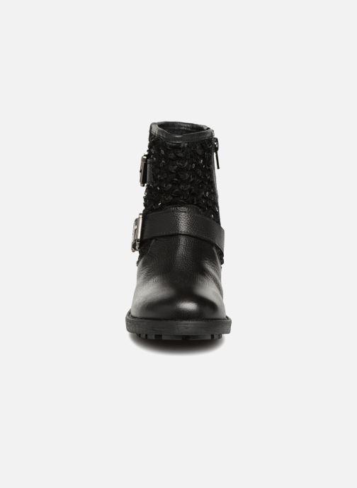 Bottines et boots Les Tropéziennes par M Belarbi Amazone Noir vue portées chaussures