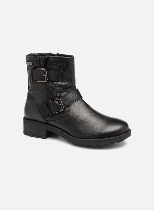 Bottines et boots Les Tropéziennes par M Belarbi Leane Noir vue détail/paire