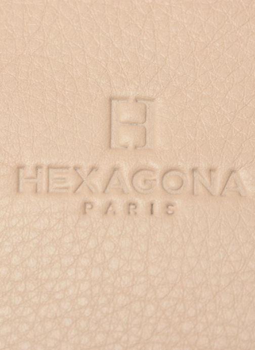 Sacs à main Hexagona 415025 Beige vue derrière