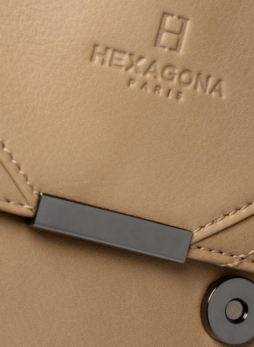 Bolsos de mano Hexagona 415026 Beige vista lateral izquierda
