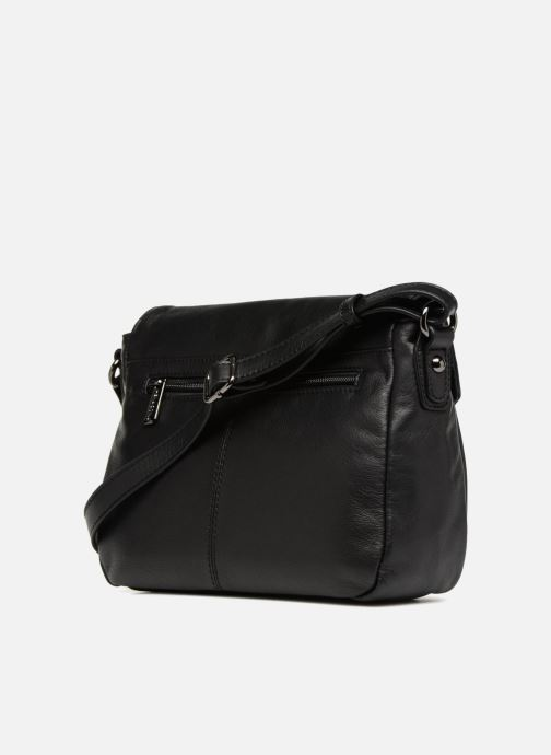 Handbags Hexagona 415043 Black view from the right