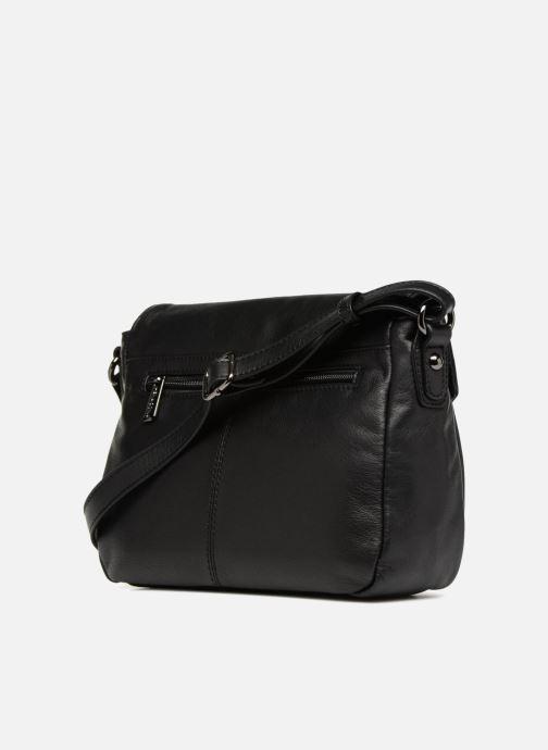 Handbags Hexagona 415043 Black view from the right