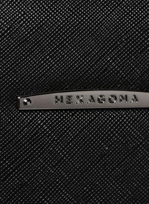 Sacs à main Hexagona 645146 Noir vue gauche
