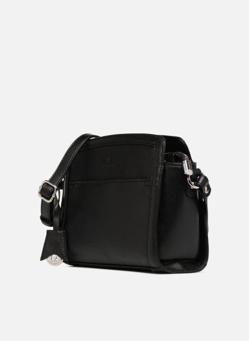 Handtaschen Hexagona 915504 schwarz schuhe getragen