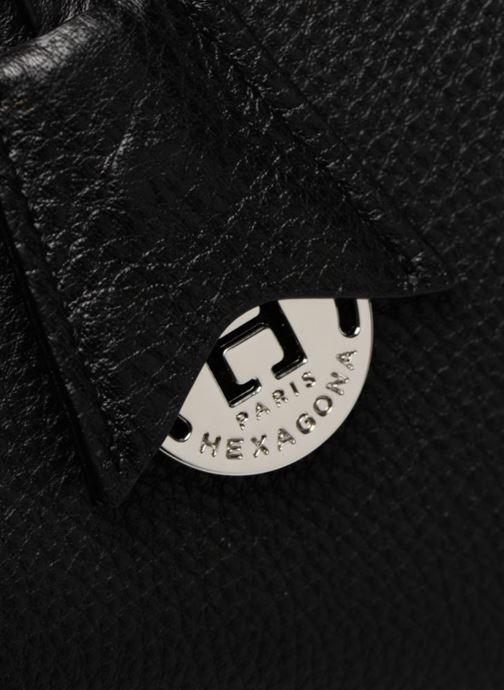 Handtaschen Hexagona 915504 schwarz ansicht von links