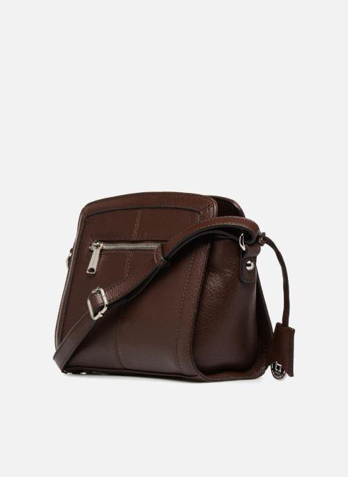 Handtaschen Hexagona 915504 braun ansicht von rechts