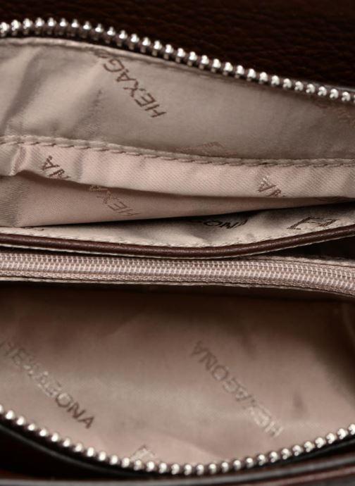 Handtaschen Hexagona 915504 braun ansicht von hinten