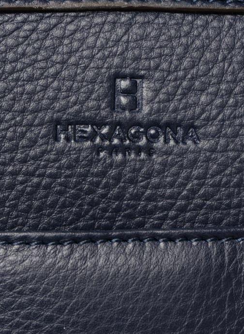 Bolsos de mano Hexagona 915504 Azul vista lateral izquierda