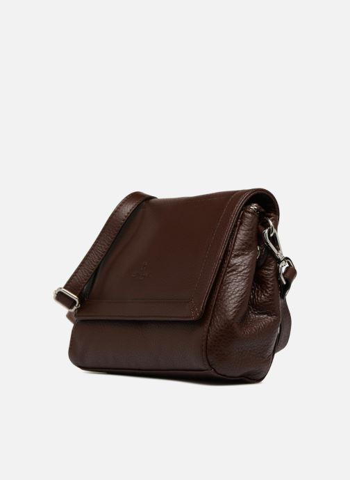 Handtaschen Hexagona 915507 braun schuhe getragen