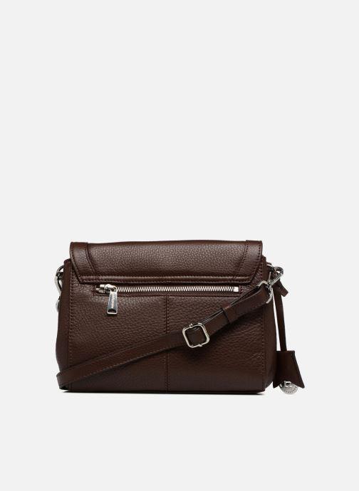 Handbags Hexagona 915507 Brown front view