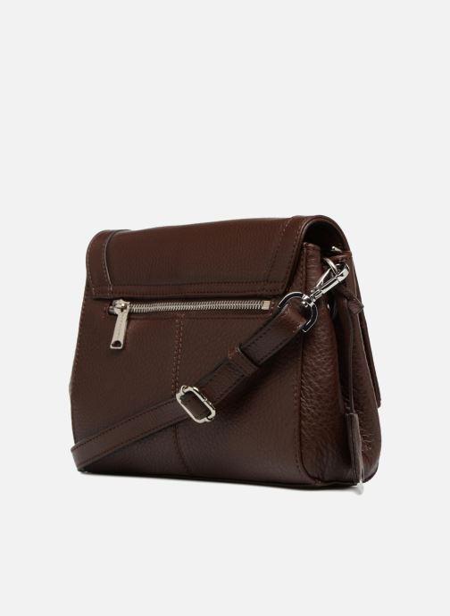 Handtaschen Hexagona 915507 braun ansicht von rechts