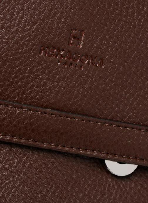 Handtaschen Hexagona 915507 braun ansicht von links