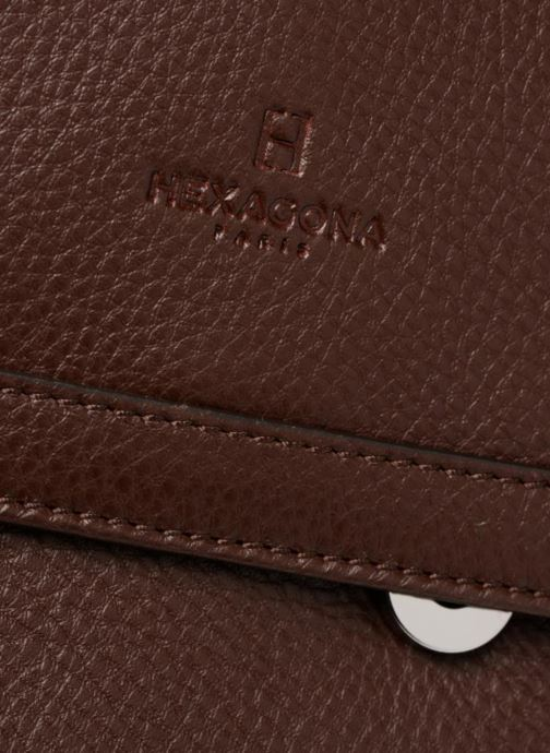 Handbags Hexagona 915507 Brown view from the left