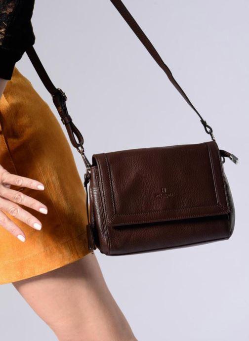 Handtaschen Hexagona 915507 braun ansicht von unten / tasche getragen