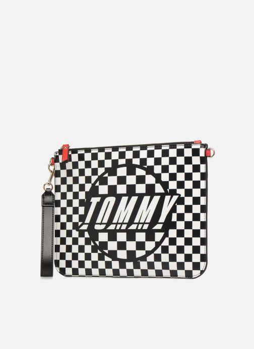 Bolsos de mano Tommy Hilfiger Pochette Checker board Negro vista del modelo