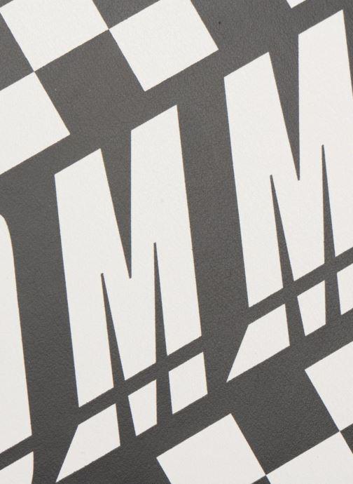 Bolsos de mano Tommy Hilfiger Pochette Checker board Negro vista lateral izquierda