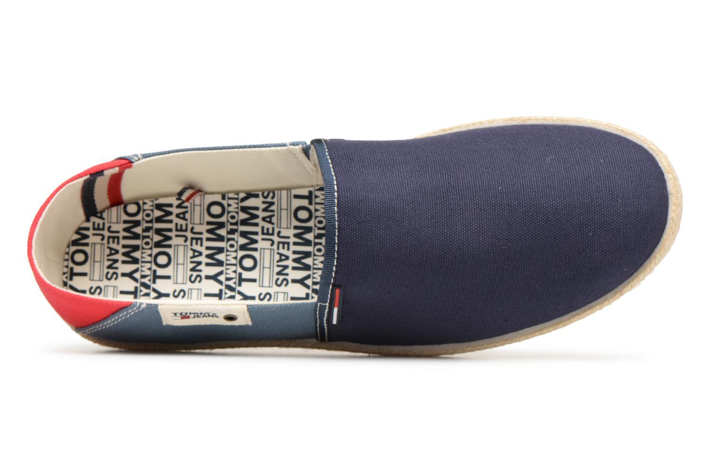 Espadrilles Tommy Hilfiger Espadrilles  Ink Jeans Blauw links