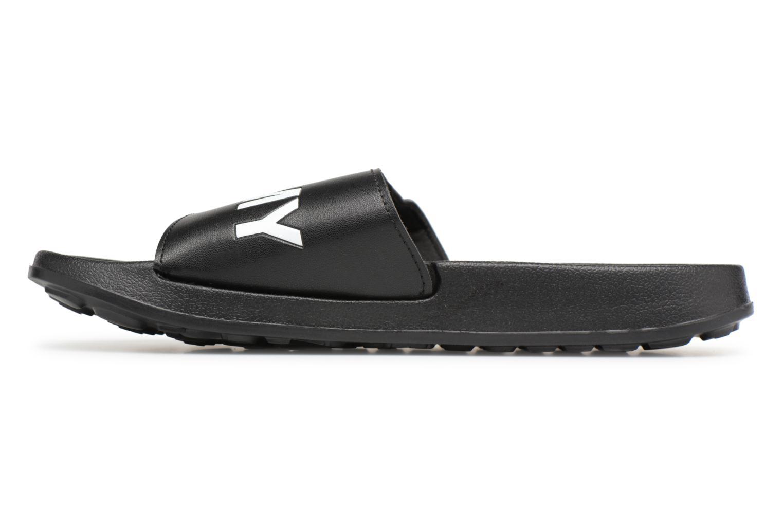 Sandalen Tommy Hilfiger Tommy Slide sandal Zwart voorkant