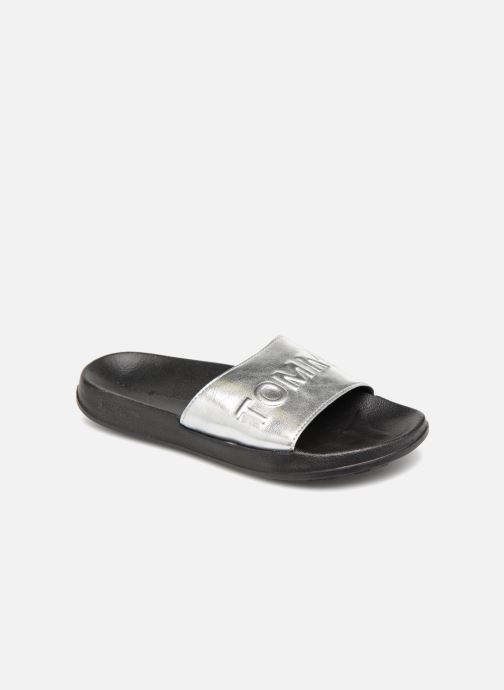 nouveau style de 2019 boutique de sortie Royaume-Uni disponibilité Tommy Hilfiger Claquettes Silver (Argent) - Mules et sabots ...