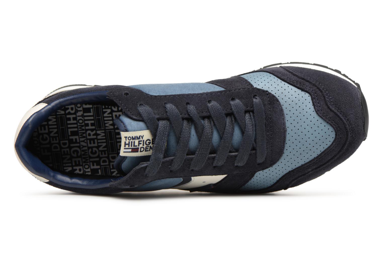 Baskets Tommy Hilfiger Sneakers FM0FM00815 Bleu vue gauche