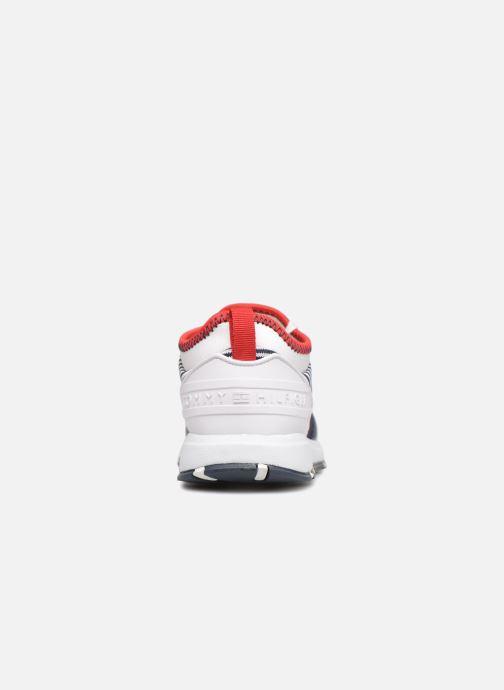 Baskets Tommy Hilfiger Sneakers Blu/Bianco Bleu vue droite