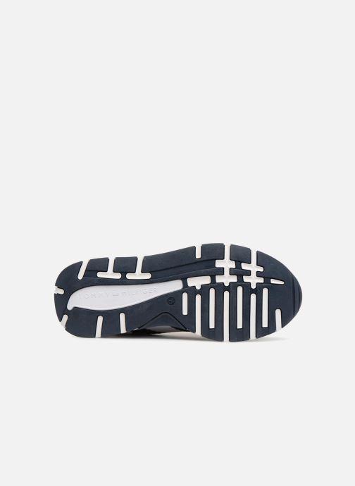 Baskets Tommy Hilfiger Sneakers Blu/Bianco Bleu vue haut