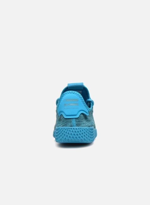 Trainers adidas originals PW Tennis HU J Blue view from the right