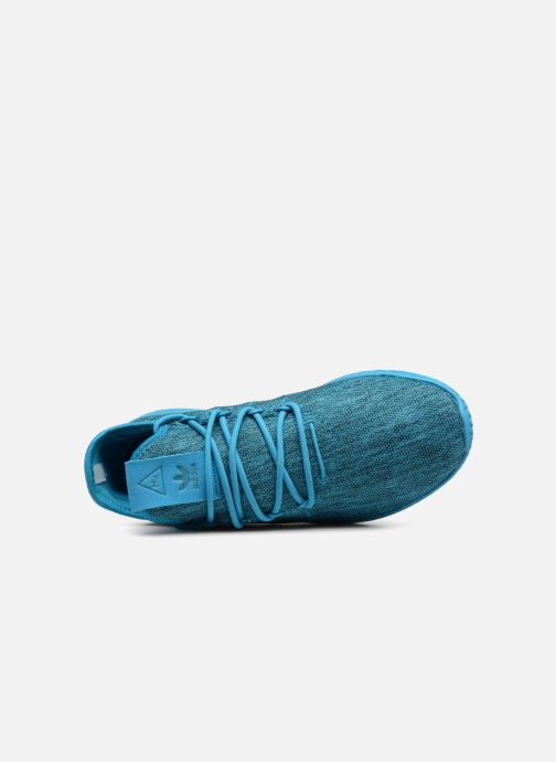 Trainers adidas originals PW Tennis HU J Blue view from the left