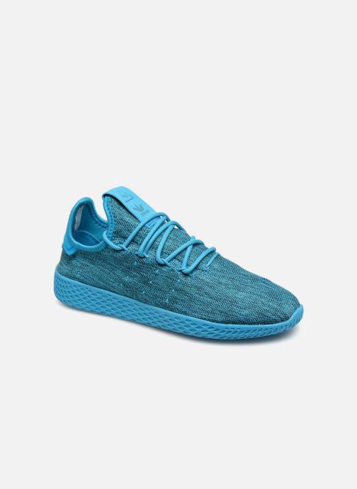 Trainers adidas originals PW Tennis HU J Blue detailed view/ Pair view