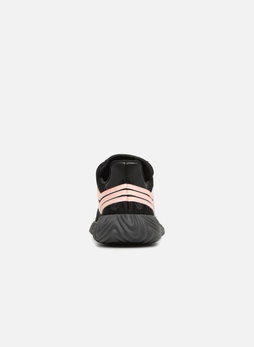 Sneakers adidas originals Sobakov Modern J Zwart rechts