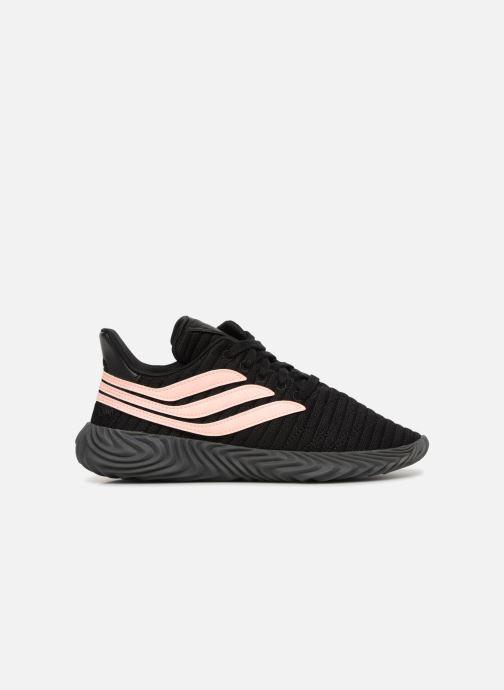 Sneakers adidas originals Sobakov Modern J Zwart achterkant