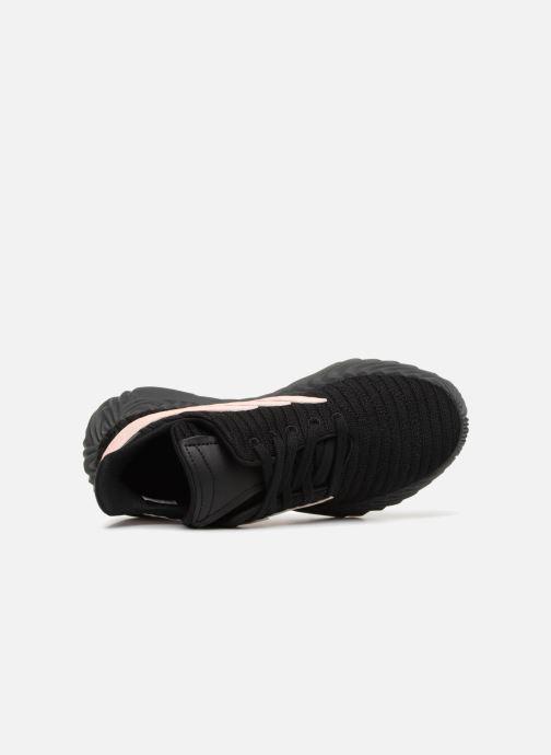 Baskets adidas originals Sobakov Modern J Noir vue gauche
