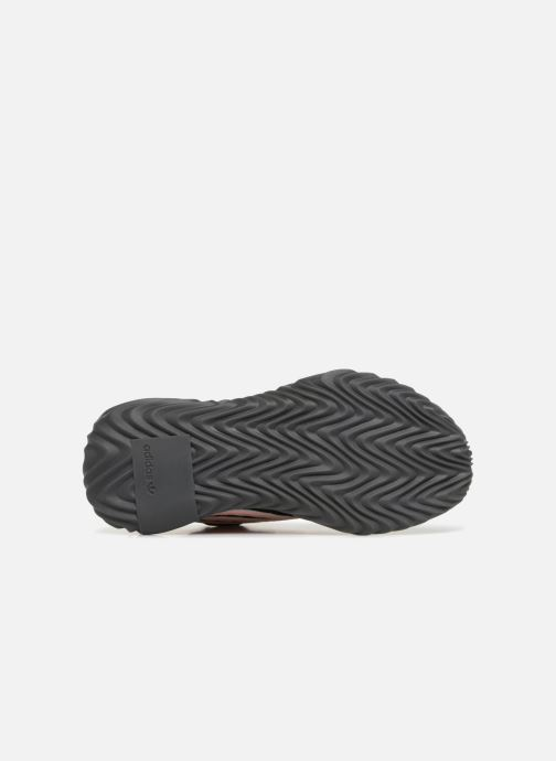 Baskets adidas originals Sobakov Modern J Noir vue haut