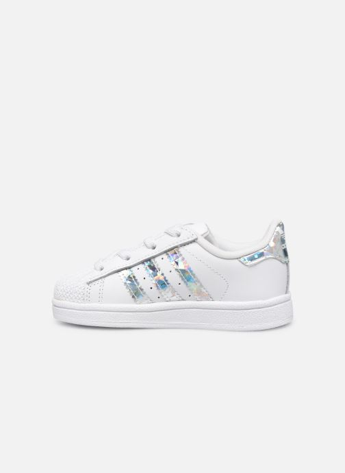 Sneaker adidas originals Superstar EL I weiß ansicht von vorne