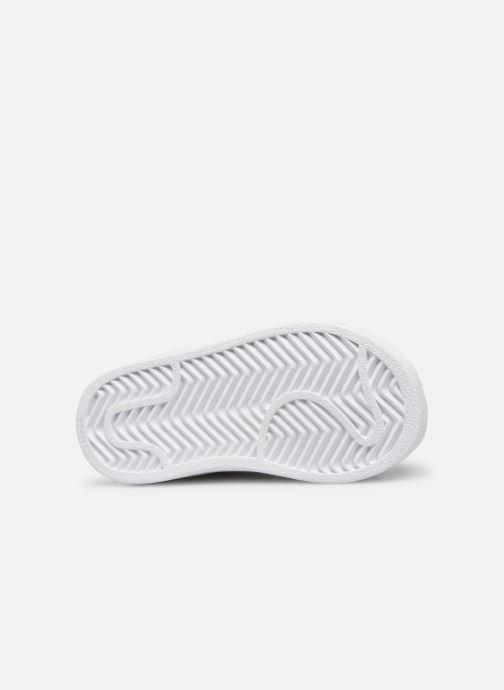 Sneaker adidas originals Superstar EL I weiß ansicht von oben