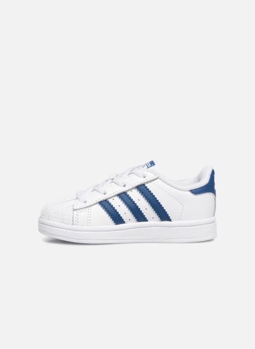 Baskets adidas originals Superstar EL I Blanc vue face