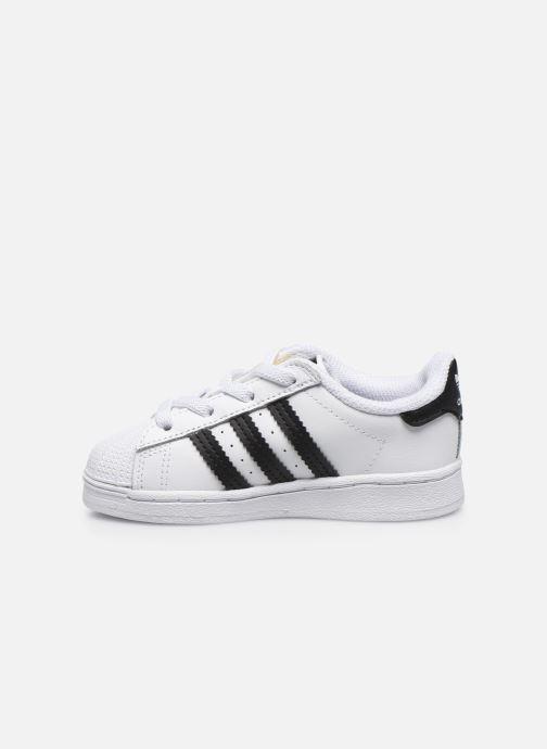 Sneakers adidas originals Superstar EL I Wit voorkant