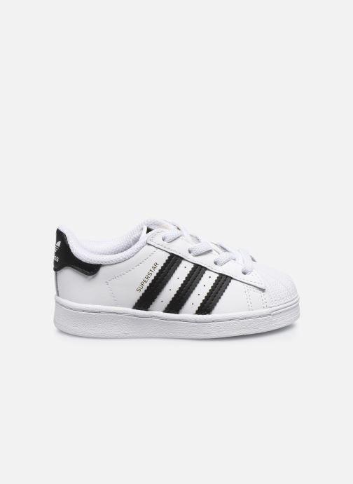 Sneaker adidas originals Superstar EL I weiß ansicht von hinten